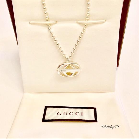 10f66762a Gucci Jewelry   New Britt Double G Toggle Necklace Authentic   Poshmark